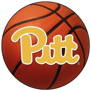 Fan Mats University of Pittsburgh Basketball Mat