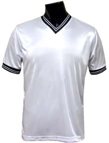 CO-WHITE TEAM SOCCER JERSEYS SLIGHTLY IMPERFECT