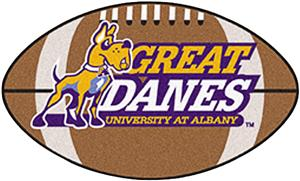 Fan Mats University at Albany-SUNY Football Mat