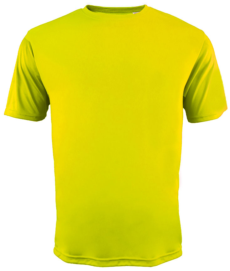 E7699 A4 Adult Cooling Performance Crew T-Shirts