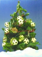 Soccer Christmas Tree Lights