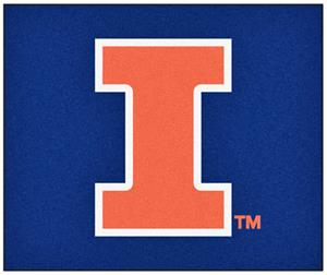 Fan Mats University of Illinois Tailgater Mat