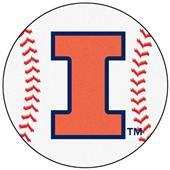 Fan Mats University of Illinois Baseball Mat