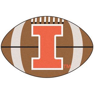 Fan Mats University of Illinois Football Mat
