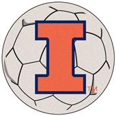 Fan Mats University of Illinois Soccer Ball Mat