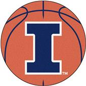 Fan Mats University of Illinois Basketball Mat