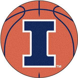 Fan Mats University of Illinois Basketball Mat