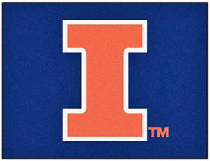 Fan Mats University of Illinois All-Star Mat