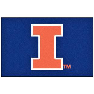 Fan Mats University of Illinois Starter Mat