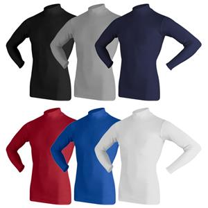 Game Gear Youth Cold Tech Mock Compression Shirts