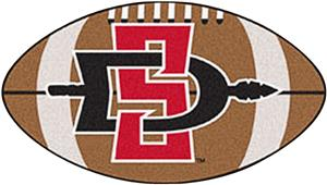 Fan Mats San Diego State University Football Mat