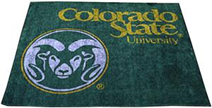 Fan Mats Colorado State University Tailgater Mat