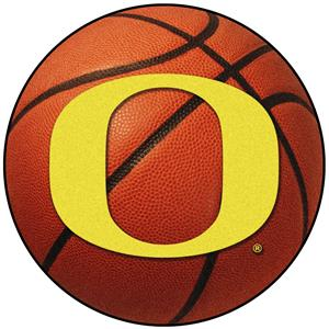 Fan Mats University of Oregon Basketball Mat
