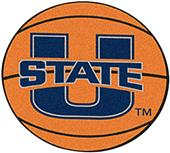 Fan Mats Utah State University Basketball Mat