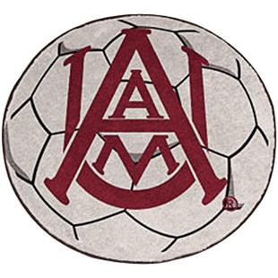 Fan Mats Alabama A&M University Soccer Ball Mat