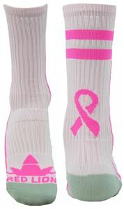 Red Lion Cancer Awareness Apex Crew Socks (Pair)