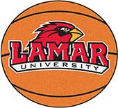 Fan Mats Lamar University Basketball Mat