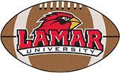 Fan Mats Lamar University Football Mat