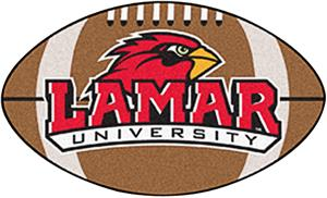 Fan Mats Lamar University Football Mat