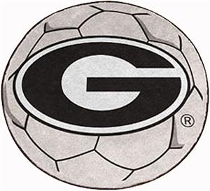 Fan Mats University of Georgia Soccer Ball Mat
