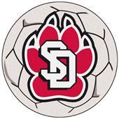 Fan Mats Univ. of South Dakota Soccer Ball Mat