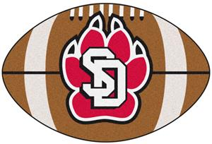 Fan Mats University of South Dakota Football Mat
