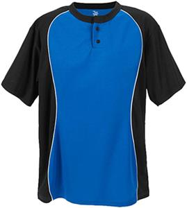 Martin Sports Two Button Placket Baseball Jersey