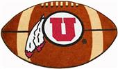 Fan Mats University of Utah Football Mat