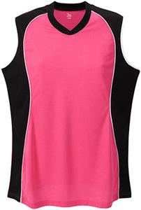 Martin Sports Womens Sleeveless V-Neck Jersey