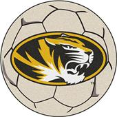 Fan Mats University of Missouri Soccer Ball Mat