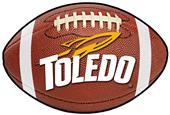 Fan Mats University of Toledo Football Mat
