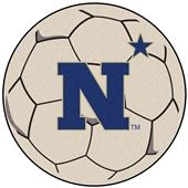 Fan Mats US Naval Academy Soccer Ball Mat