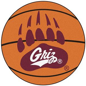 Fan Mats University of Montana Basketball Mat