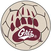 Fan Mats University of Montana Soccer Ball Mat