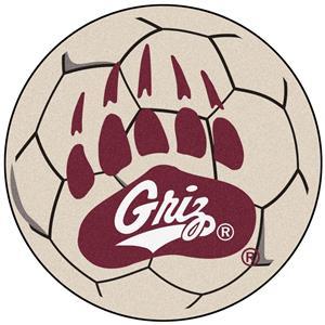 Fan Mats University of Montana Soccer Ball Mat
