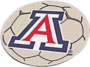 Fan Mats University of Arizona Soccer Ball Mat