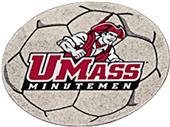 Fan Mats Univ. of Massachusetts Soccer Ball Mat