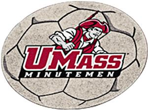 Fan Mats Univ. of Massachusetts Soccer Ball Mat