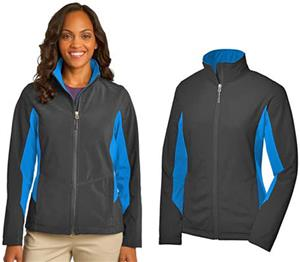 Port Authority Ladies Core Colorblock Soft Jacket