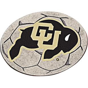 Fan Mats University of Colorado Soccer Mat