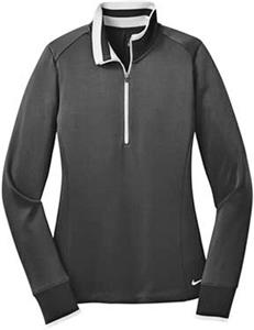 Nike Golf Women's Dri-FIT 1/2-Zip Cover-Ups