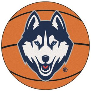 Fan Mats University of Connecticut Basketball Mat