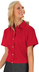 Jonathan Corey Ladies SS Performance Brushed Shirt
