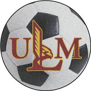 Fan Mats Univ. of Louisiana-Monroe Soccer Ball Mat