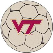 Fan Mats Virginia Tech Soccer Ball Mat