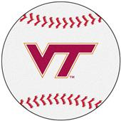 Fan Mats Virginia Tech Baseball Mat
