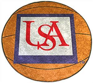 Fan Mats Univ. of South Alabama Basketball Mat