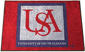 Fan Mats University of South Alabama Starter Mat