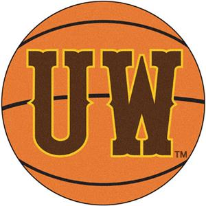 Fan Mats University of Wyoming Basketball Mat