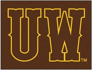 Fan Mats University of Wyoming All-Star Mats